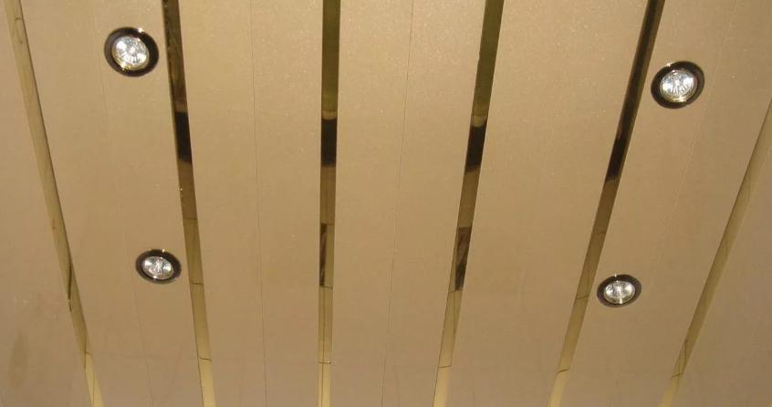 подвесной потолок реечный