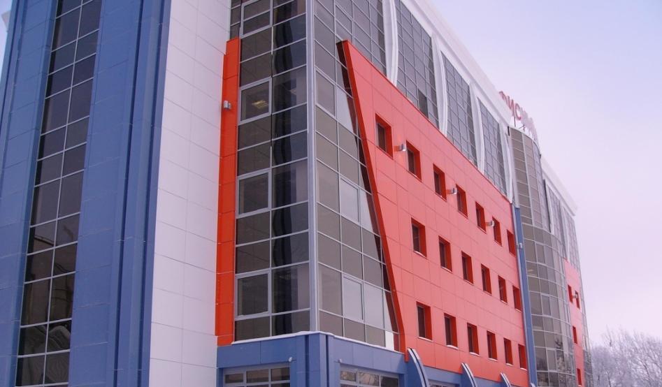 вентилируемые фасады в Москве фото