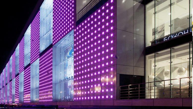 вентилируемые фасады в Москве торговый центр
