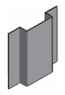 профиль шляпный Primet для вентилируемого фасада