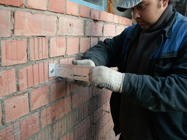 монтаж навесного фасада керамогранит в Москве