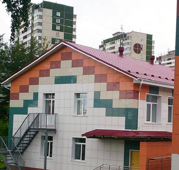 фасад керамогранит Москва