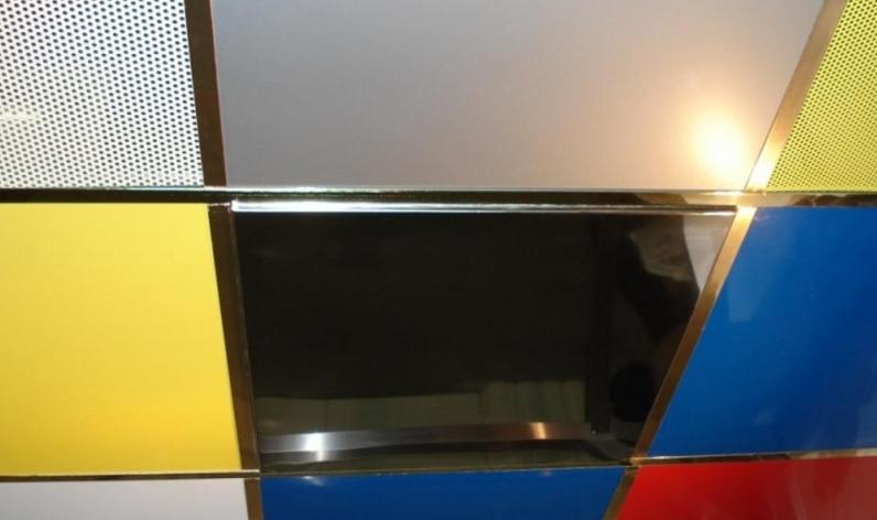 подвесной потолок кассетный
