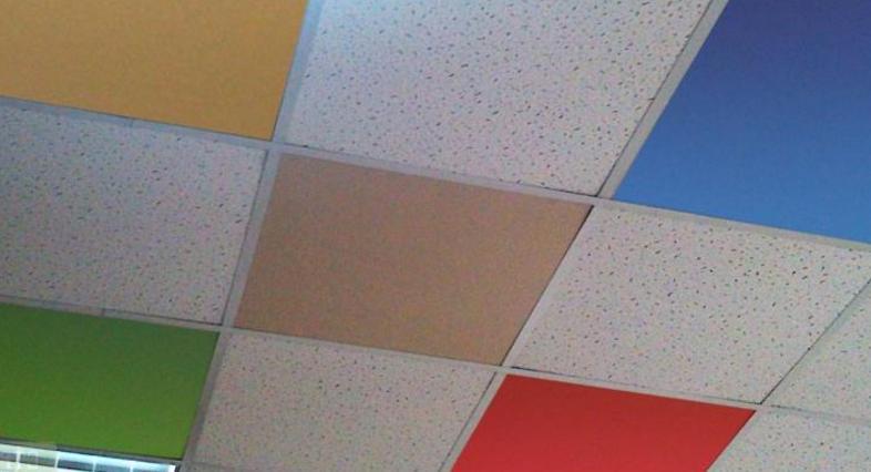 подвесной потолок плиточный