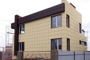 вентилируемые фасады для частных домов
