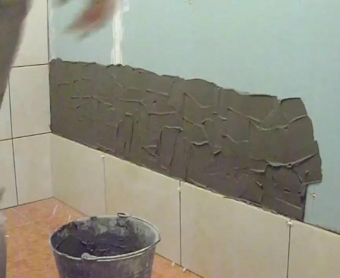 подготовка гипсокартона под плитку