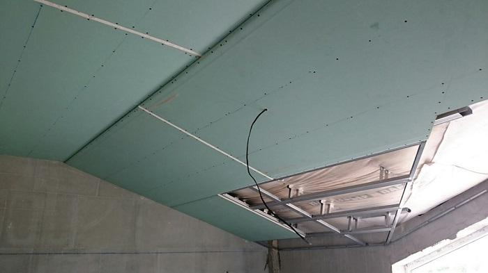 ремонт мансарды под гипсокартон