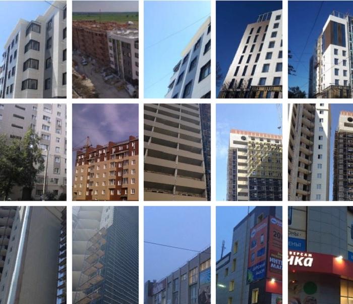 навесные фасады домов