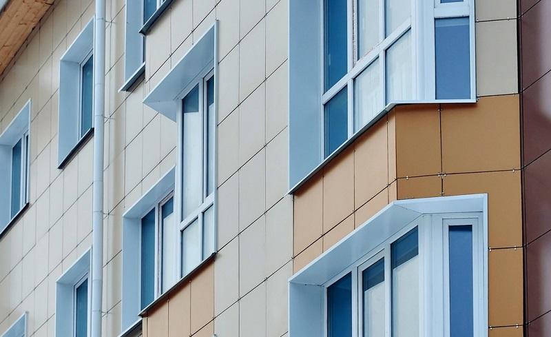 наружная отделка нового дома в Москве