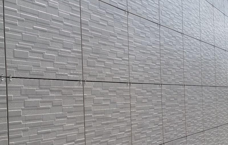 навесной вент фасад открытого типа