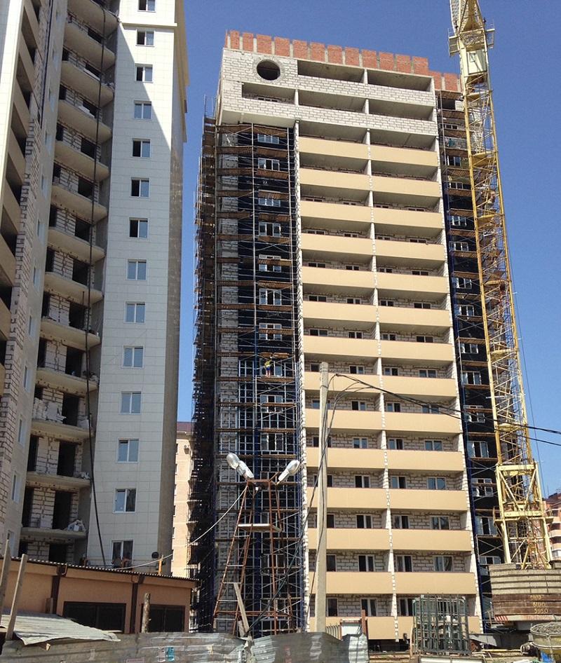 навесные вентфасады для многоэтажного дома