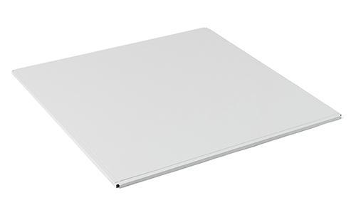 белые алюминиевые кассеты для подвесных потолков