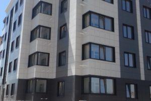 фасадная навесная конструкция с воздушным зазором