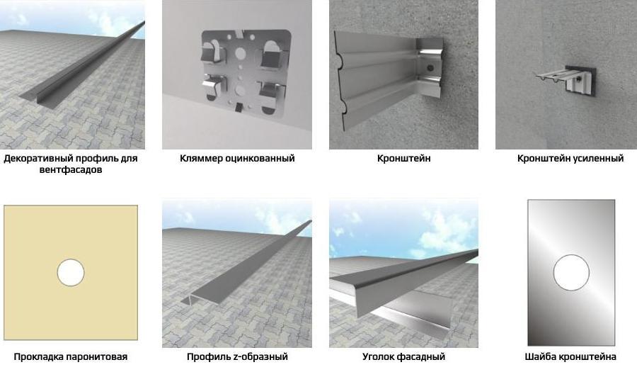 Кронштейн для подсистемы фасадов от производителя в Москве