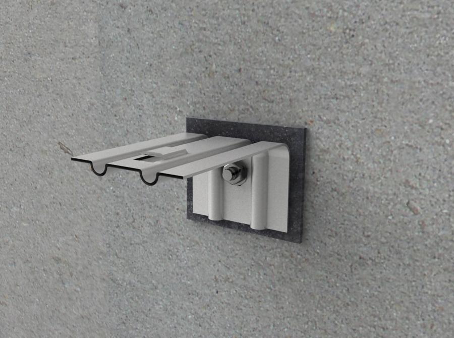 Усиленный кронштейн для подсистемы фасадов Праймет