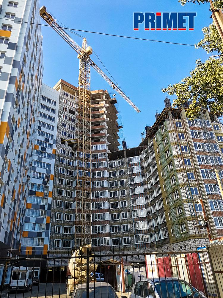 системы Primet для наружной отделки многоэтажных домов