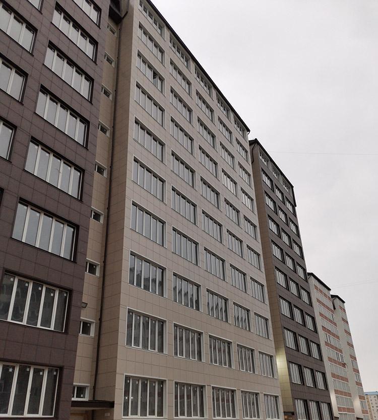 утепление вентилируемого фасада в Москве