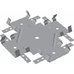 комплектующие для монтажа каркаса для ГКЛ из оцинкованной стали