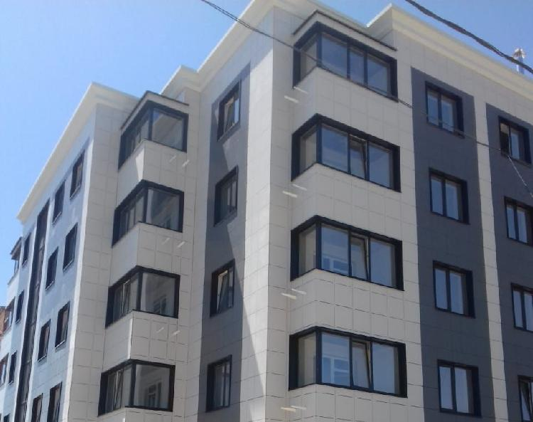 сочетание цветов на наружных стенах зданий