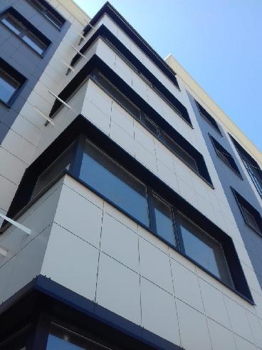 вентилируемые фасады с облицовкой современными материалами