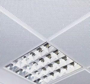 подвесной алюминиевый потолок в ванную комнату