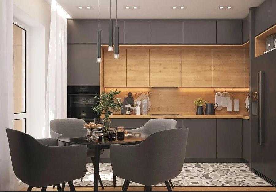 подвесной потолок или потолок с открытым дизайном