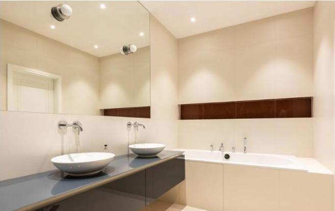 кассетный потолок в ванную